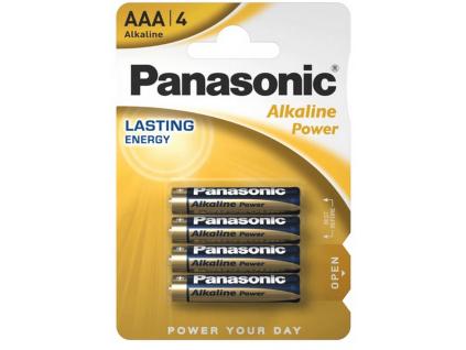 Batérie Panasonic Alkaline Power AAA 4 ks blister