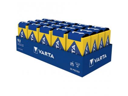 Batéria Varta Industrial 9V / 6LR61 4022 - 20 ks
