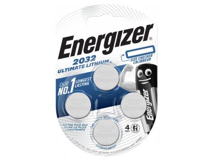 Batéria gombíková Energizer Ultimate Lithium CR2032 4 ks