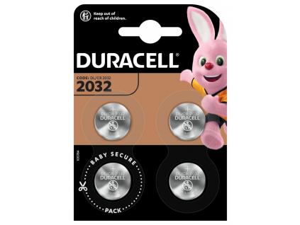 Bateria Duracell CR2032 4 ks