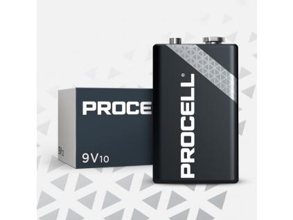 Batéria Duracell PROCELL (Industrial) 9V 6LR61 10 ks balenie