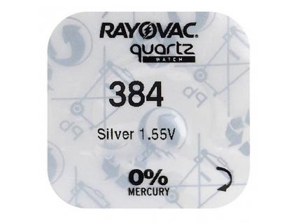 Batéria gombíková mini Rayovac 384, 392, SR41SW, SR736SW, G3