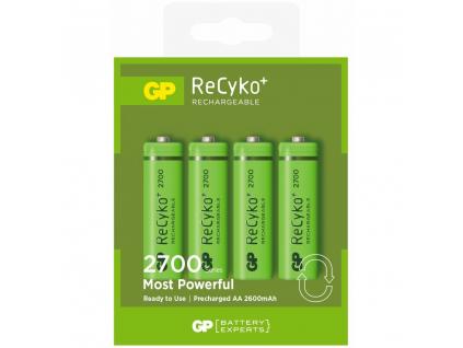 Nabíjacie batérie R6/AA GP ReCyko+ 2700 Series 2600mAh - 4 ks blister