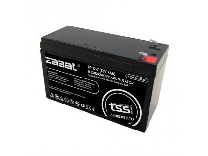 Akumulátor olovený ZABAT 12V 7Ah
