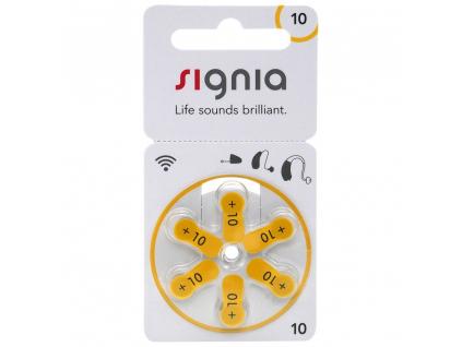 Baterie Signia 10 6 ks