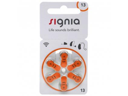 Baterie Signia 13 6 ks