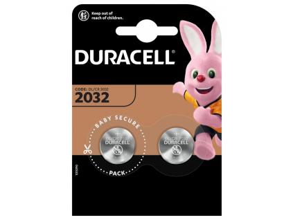 Batéria gombíková Duracell CR2032 2 ks