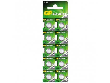 Bateria GP A76 LR44 10 ks balenie