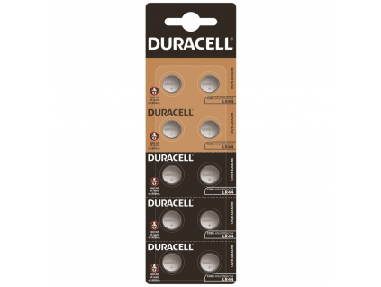 Bateria Duracell LR44 10 ks