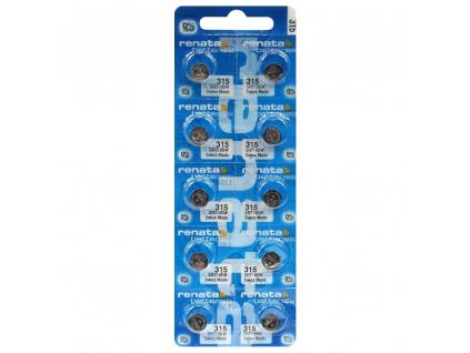 Batéria hodinková Renata 315, SR716SW, SR67315 10 ks