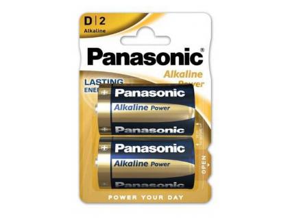 Batéria Panasonic Alkaline Power D LR20 2 ks