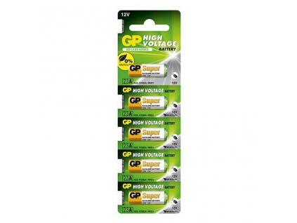 Batéria GP MN21, A23, 23A, V23GA 5 ks výhodné balenie
