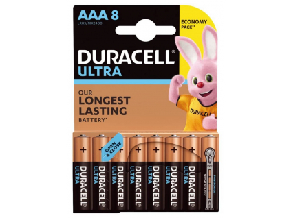 Batérie Duracell ULTRA (TURBO) AAA 1.5 V LR03 8 ks