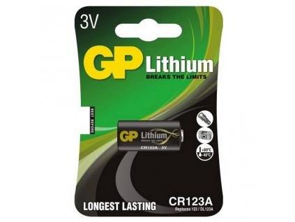 Batéria GP CR123