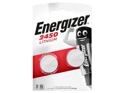 Batéria Energizer CR2450 2 ks