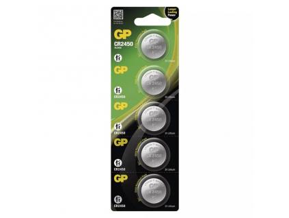 Batéria GP CR2450 5 ks