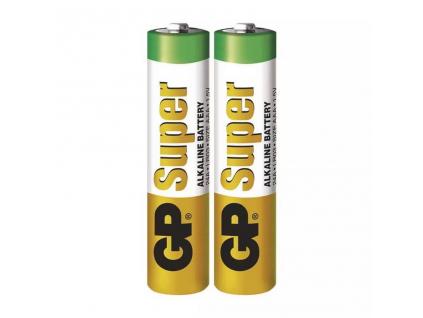 Batérie GP Super Alkaline LR03 AAA 2 ks fólia