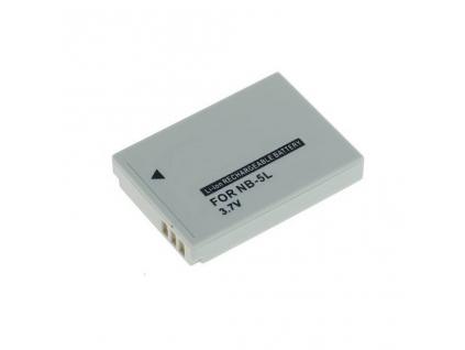 Batéria pre Canon NB 5L, Li ion 1100 mAh