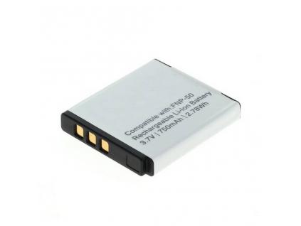 Batéria pre Fuji NP 50, Li ion 750 mAh
