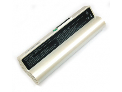 Batéria kompatibilná s Asus Eee PC A701/900 Li-Ion 4400 mAh biela