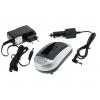 Nabíjačka pre batérie Pentax D-LI88, DLI88, Panasonic VW-VBX070, Sanyo DB-L80