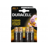 Batérie Duracell Duralock Basic C&B LR6 AA 4 ks
