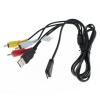 USB / AV Kábel kompatibilný s Sony Cyber-Shot VMC-MD3