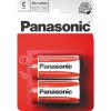 Baterie Panasonic R14 C 2 ks blister