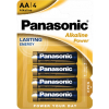 Batérie Panasonic Alkaline Power AA 4 ks blister