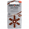 Batérie do načúvacích prístrojov 6 ks Rayovac Extra Advanced 312