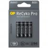 Nabíjacie batérie R03/AAA GP ReCyko+ Pro Professional 800mAh 4 ks blister