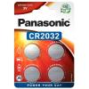 Batéria Panasonic CR2032 4 ks