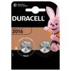 Batéria Duracell CR2016, DL2016, ECR2016 2 ks