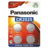 Batéria Panasonic CR2025 4 ks