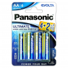 Batérie Panasonic Evolta Power Rangers AA LR6 6 ks balenie