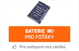 Baterie pro foťáky