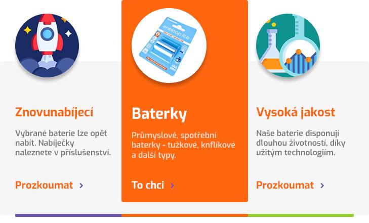 Spolehlivé baterky