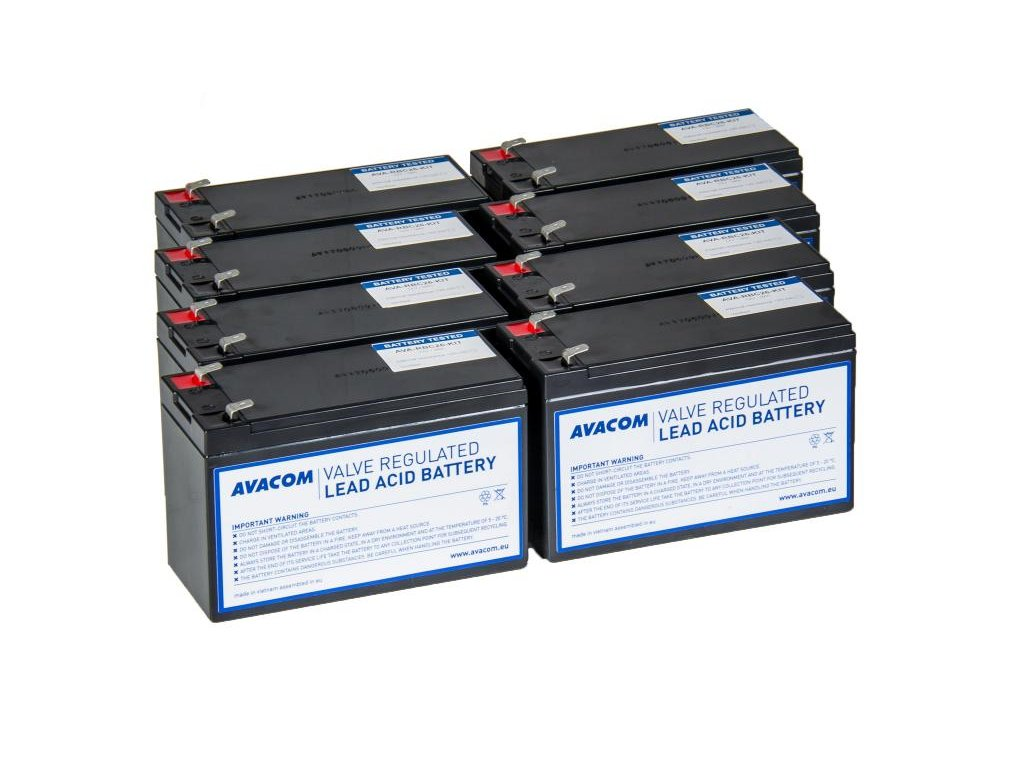 AVACOM RBC26 - kit pro renovaci baterie (8ks baterií)
