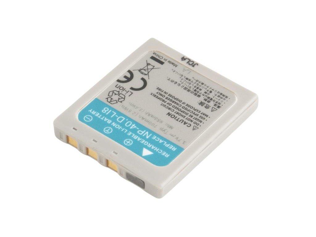 Fujifilm NP-40, NP-40N, Kodak KLIC-7005, Pentax D-LI8 Li-Ion 3.7V 700mAh 2.6Wh