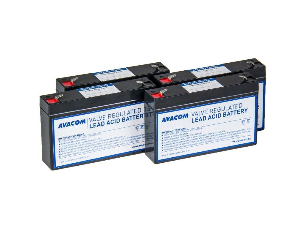 AVACOM RBC34 - kit pro renovaci baterie (4ks baterií)