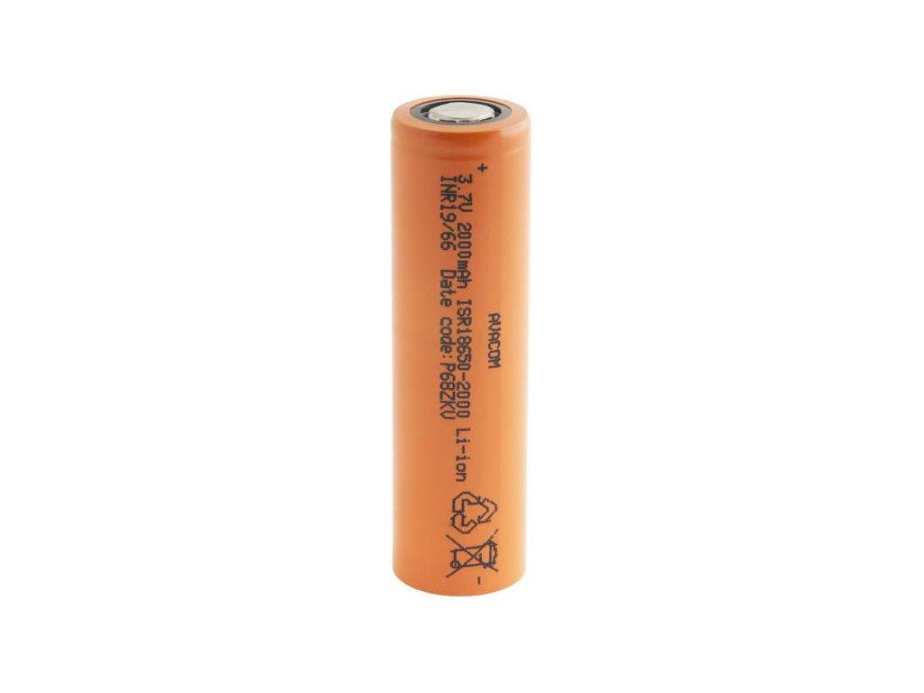 Nabíjecí průmyslová baterie 18650 AVACOM 2000mAh 3,7V Li-Ion