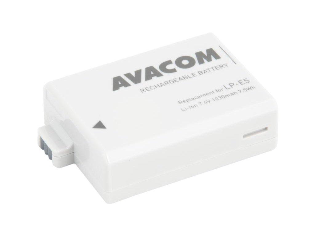 Canon LP-E5 Li-Ion 7.4V 1020mAh 7.5Wh
