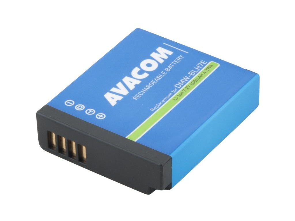 Panasonic DMW-BLH7E Li-Ion 7.2V 600mAh 4.3 Wh