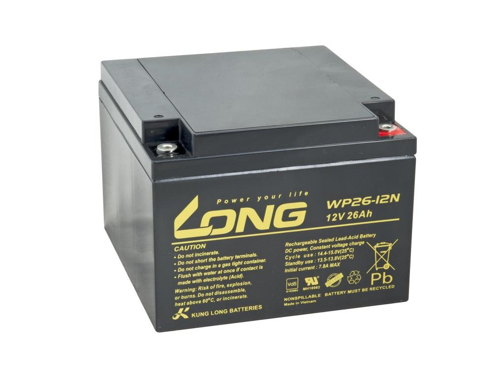 LONG baterie 12V 26Ah M5 (WP26-12N)
