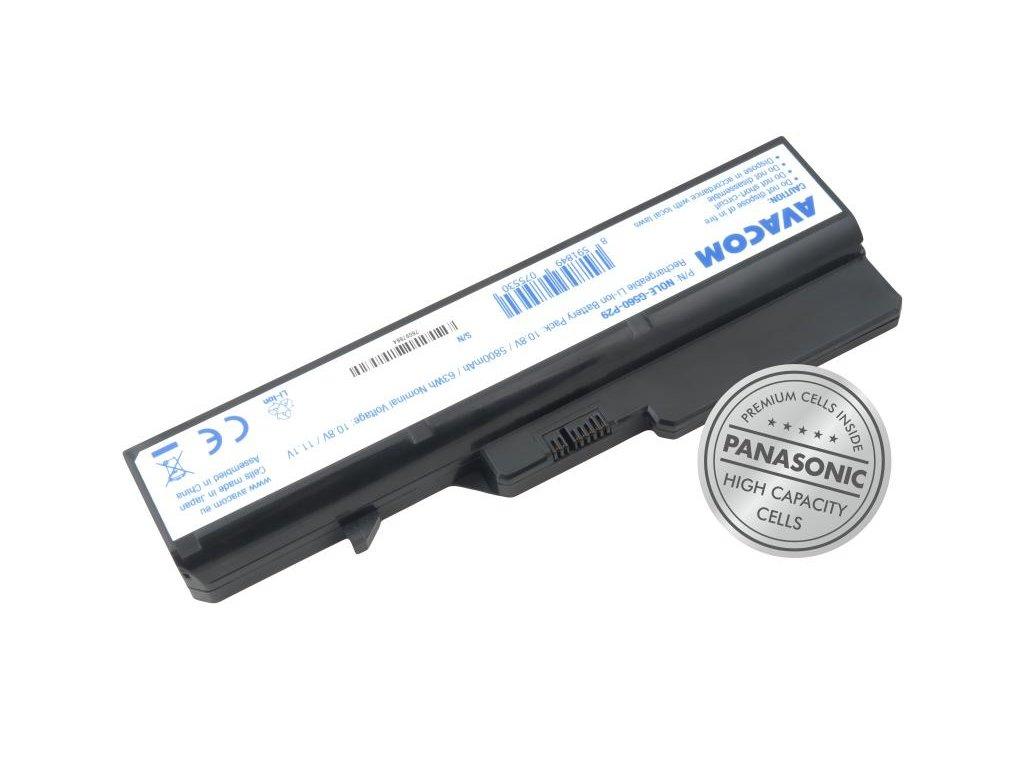 Lenovo G560, IdeaPad V470 series Li-Ion 10,8V 5800mAh 63Wh