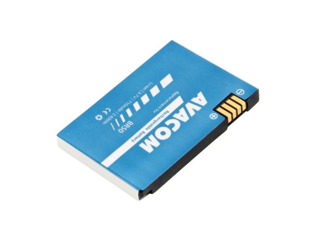 Baterie do mobilu Motorola Li-Ion 3,7V 710mAh RAZR V3, V3i (náhrada BR50)
