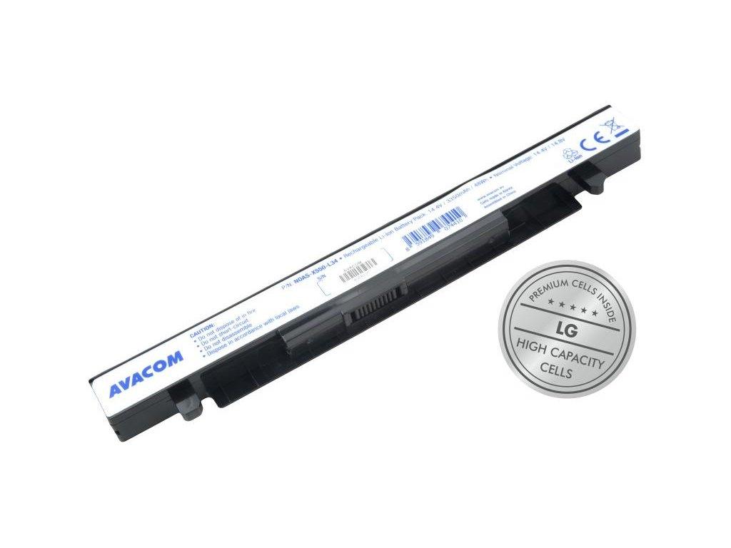 Asus X550, K550, Li-Ion 14,4V 3350mAh 48Wh