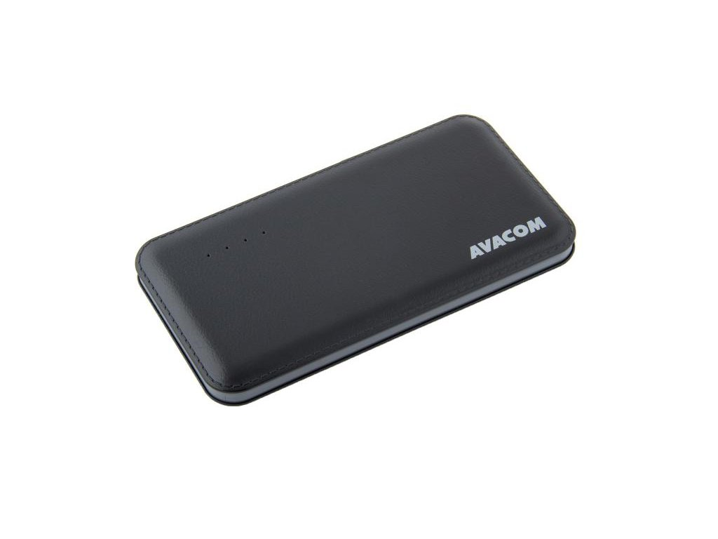 AVACOM externí baterie PWRB-8001K, Li-Pol, kapacita 8000mAh, výstup 5V/2.1A, černá