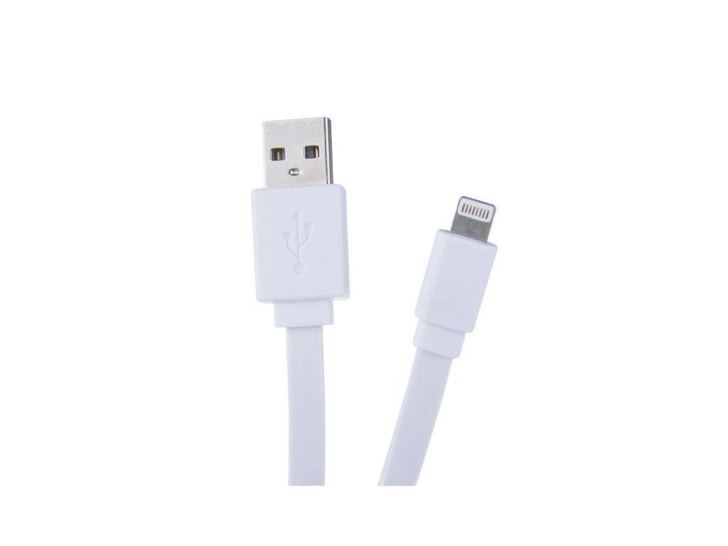 AVACOM LIG-40W kabel USB - Lightning, 40cm, bílá