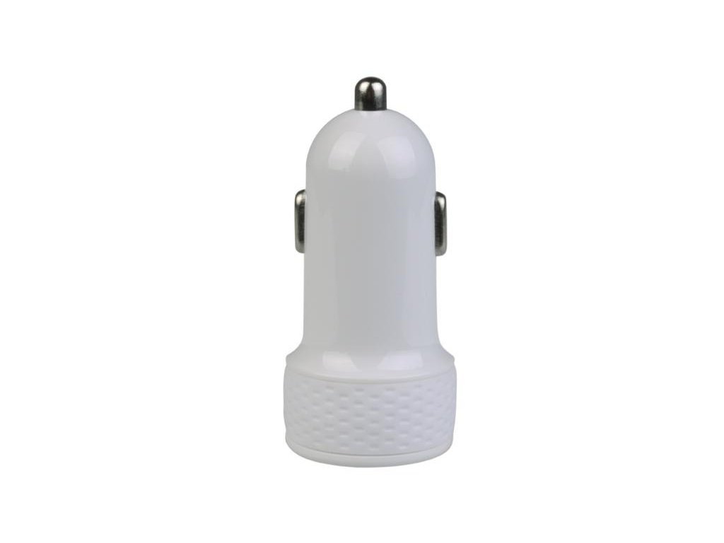 AVACOM nabíječka do auta s výstupem USB 5V/1A, bílá barva